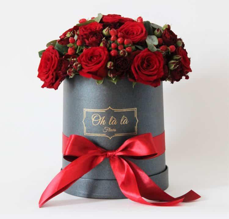 Roses en Compagnie - boxy, donáška kvetov Bratislava
