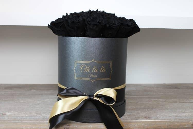 Stredný box Éternelle rose s vôňou záhradných ruží - trvacne-ruze, donáška kvetov Bratislava