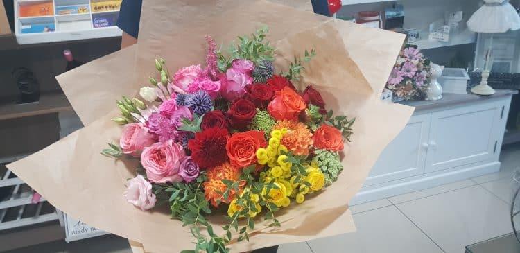 Kytica na želanie luxe - kytice, donáška kvetov Bratislava