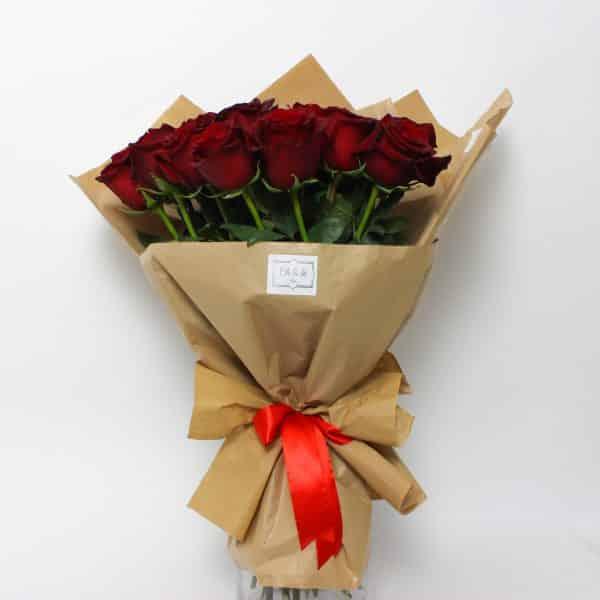 Bouquet de roses pures - kytice, donáška kvetov Bratislava