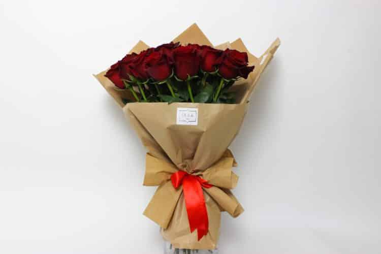 Bouquet de roses pures - iba osobný odber - kytice, donáška kvetov Bratislava