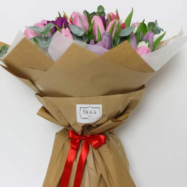 Bouquet de tulipes - kytice, donáška kvetov Bratislava
