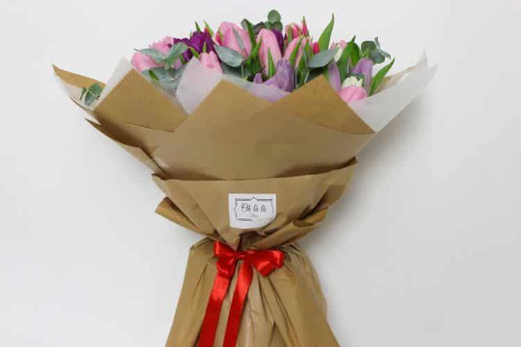 Bouquet de tulipes - do 2 hod. - do-2-hodin, donáška kvetov Bratislava