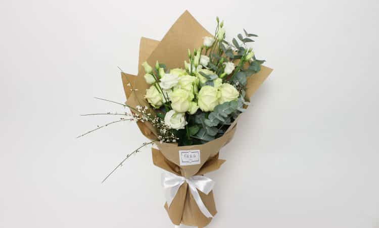 Bouquet idylle - kytice, donáška kvetov Bratislava