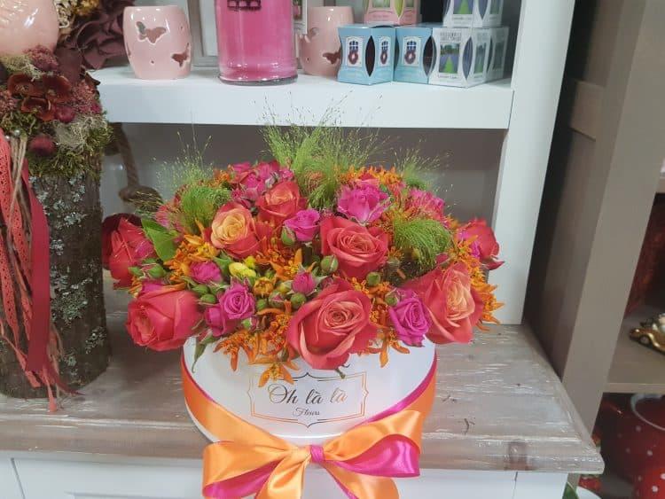Kvetinový box na želanie - do 2 hod. - do-2-hodin, donáška kvetov Bratislava
