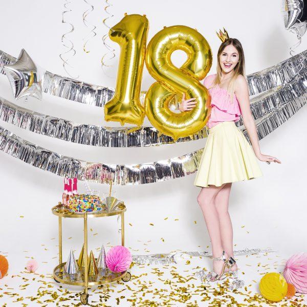"""Fóliový balón číslo """"0-9"""" rôzne farby - balony, donáška kvetov Bratislava"""